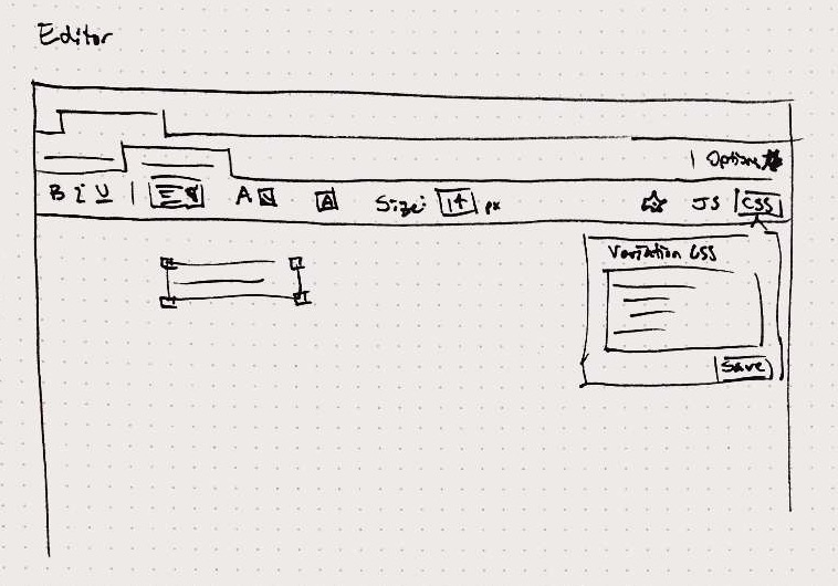 Picture of my toolbar sketch