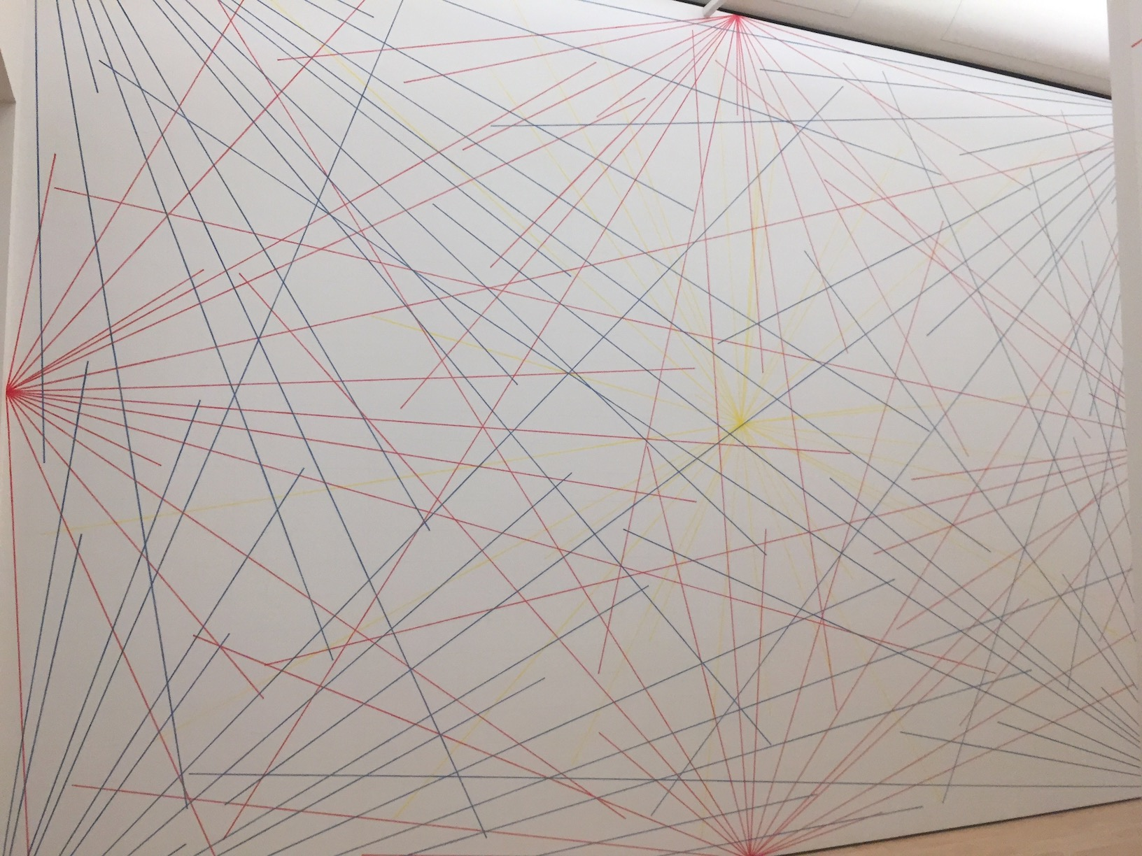 Sol Lewitt Wall Drawing By Jeff Zych