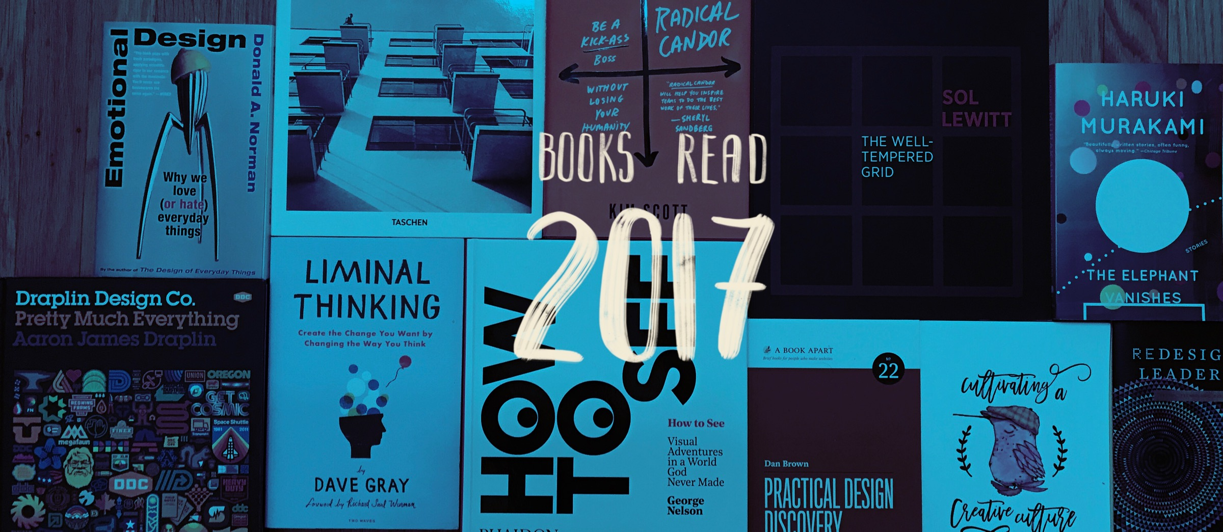 Books Read 2017 banner
